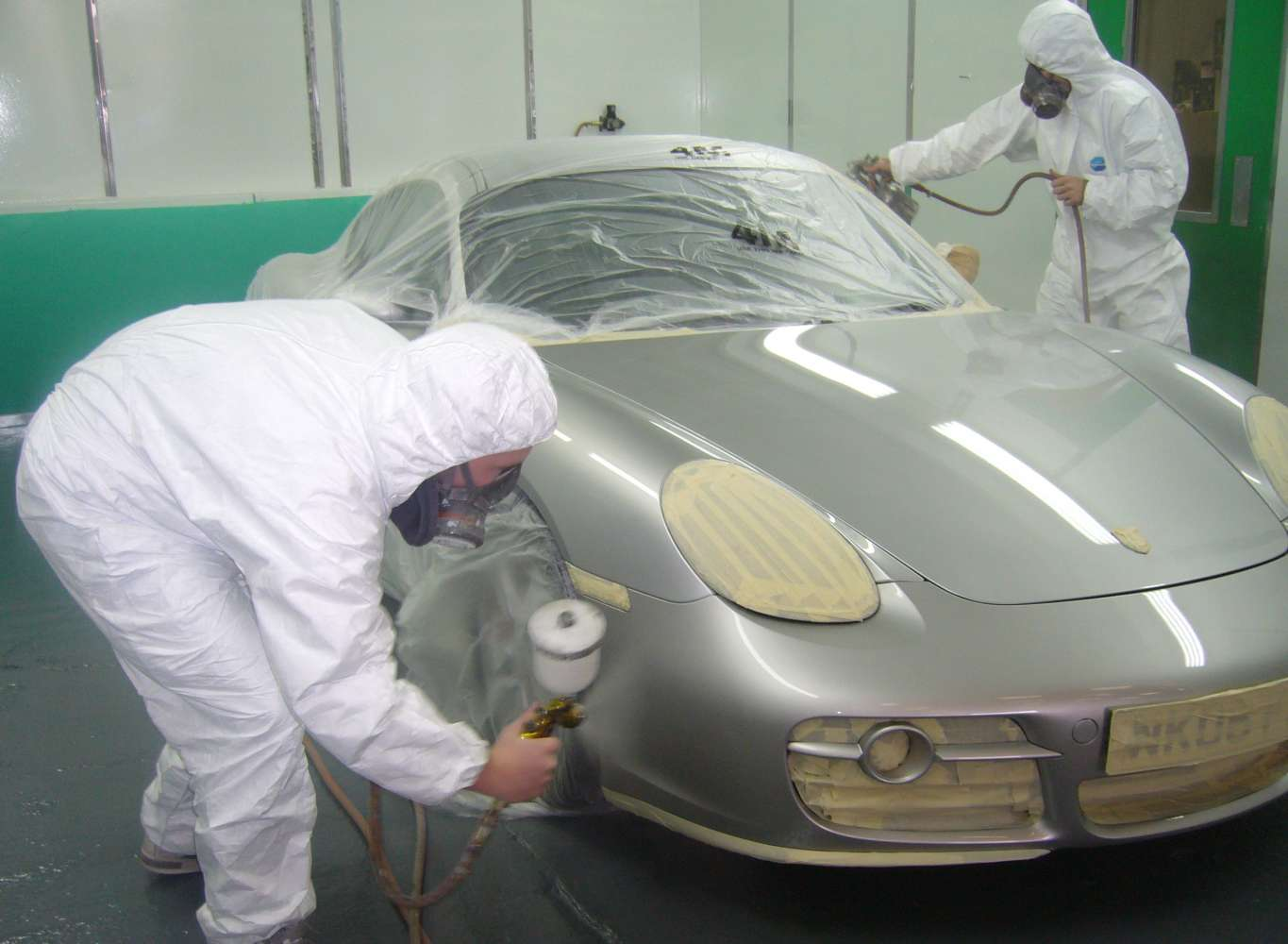 Here are five repairs you should take to the garage for Body paint auto